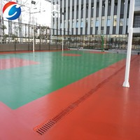 Floor paint- sport floor outdoor water proof PU antiskid coating