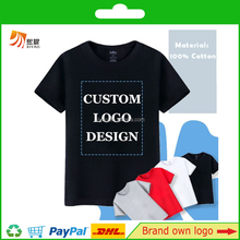 Wholesale 100% Cotton Custom Printing T-shirt With Own Logo