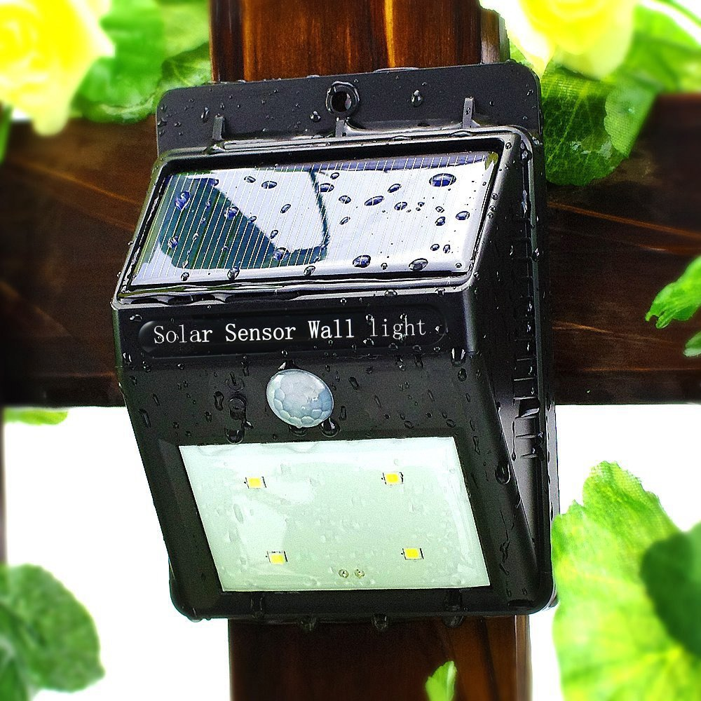 2w wall mounted motion sensor outdoor led solar light , solar wall light , led solar lamp