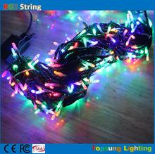 Pretty 30m connectable RGB color changing cheap led christmas lights 300 led for holidays