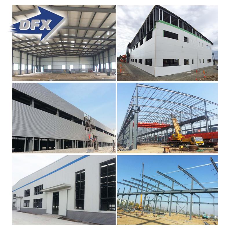 Pre Ingeniería Estructura De Acero Del Edificio Del Metal - Buy ...