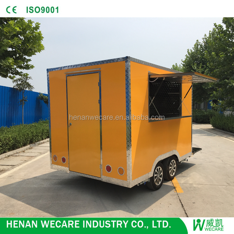 2018 Mini Edition Environmental Electric Mobile breakfast Food Trailer