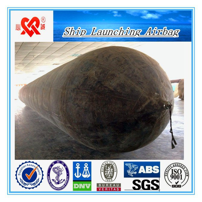 Top quality marine ship launching and landing ship airbag