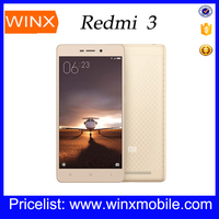 2016 Original Xiaomi Redmi 3/xiaomi mi3 pro 16GB/32GB ROM cell phone new products lowest price china android phone