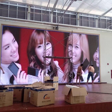 Indoor high resolution P6 full color 576mm*576mm LED screen large stadium led display