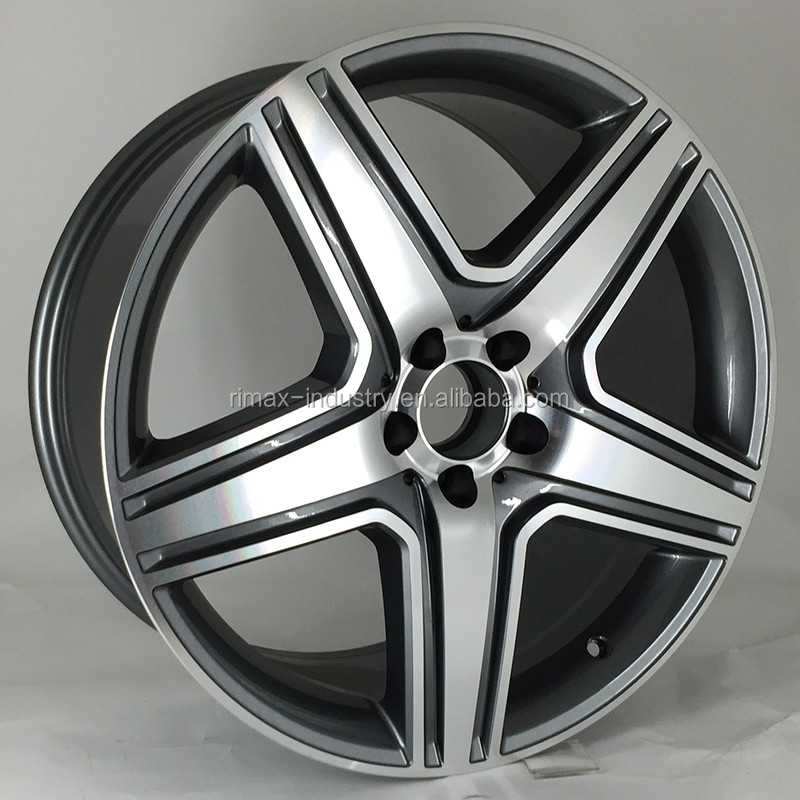 "Factory price 20"" 21"" MB replica alloy wheel with pcd 5x112"
