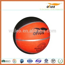 8 pannels China manufacture high quality colorful basketball