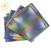 Glamour Hologram Bubble Mailers Metallic Holographic Bubble Mailer