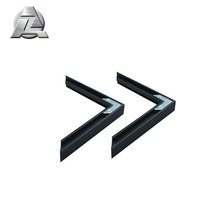 factory price black aluminum picture frame metal moulding profile