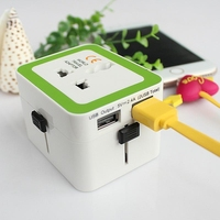 Hot Sale Smart Design Universal Plugs 3-in-1 Global Travel Adapter