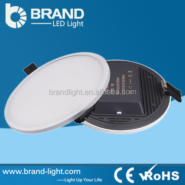 CE ROHS Approved Recessed Mounted SMD2835 18w 6 Inch Round Led Ceiling Light, LED Panel Light