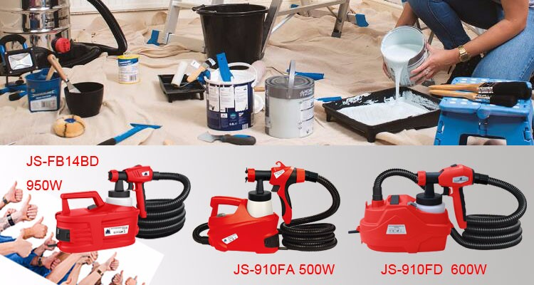 JS High 800W spray gun JS-FB17AI
