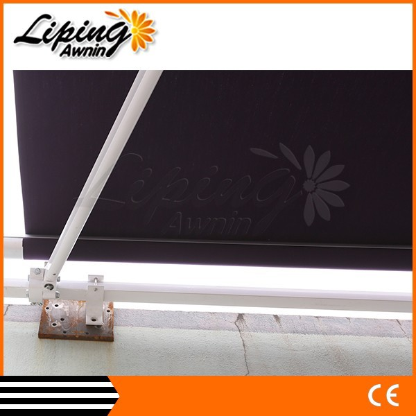 China wholesale market awning track, manual retractable awning