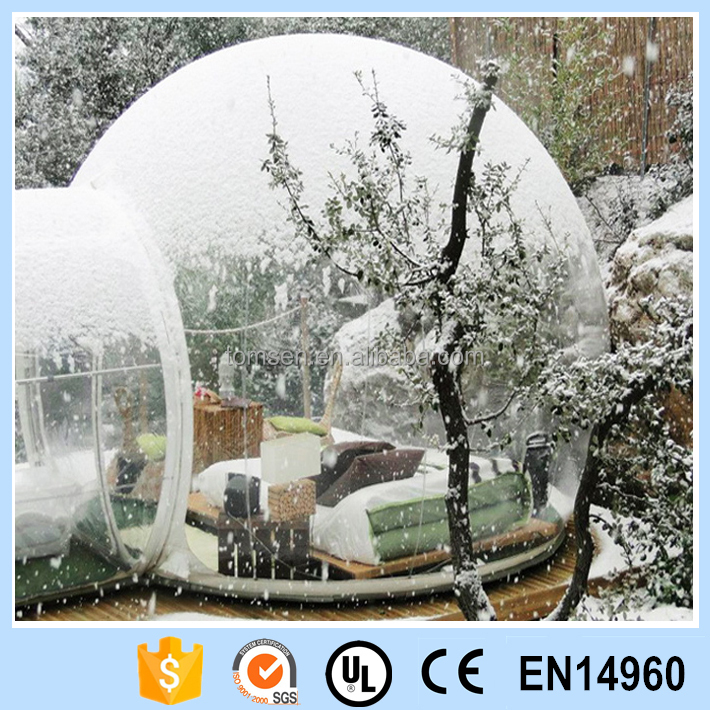 Wholesale new style high quality indoor/outdoor for Inflatable bubble