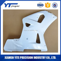 Customized Motorcycle ABS Plastic parts Unpainted Polished Needed Injection Mold Bodywork