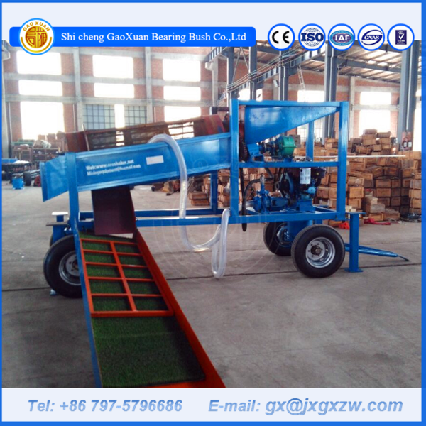 Rotary sand and gravel separator screening machine mobile gold trommel screen
