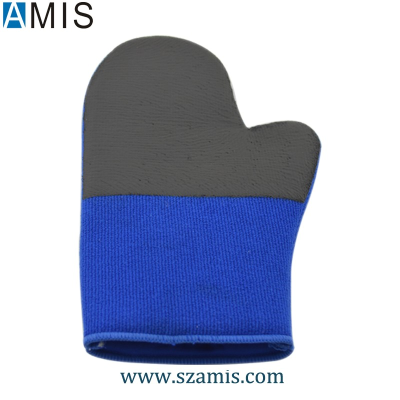 China Factory Hot Sale Medium Grade Microfiber Car CleaningTool Magic Sponge Clay Bar Glove