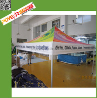 custom printed waterproof pop-up tent