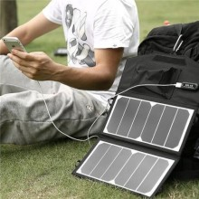 Wholesale Waterproof Folding Solar Power Battery Charger Panel Solar Backpack 20w