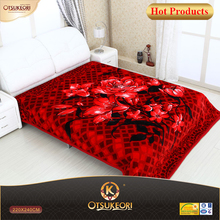 100% polyester 200x240 raschel blanket wraps for adults