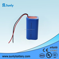 Lithium ion Battery Manufacturers 18650 7.4v 4400mAh Li Battery Pack for Power Tools