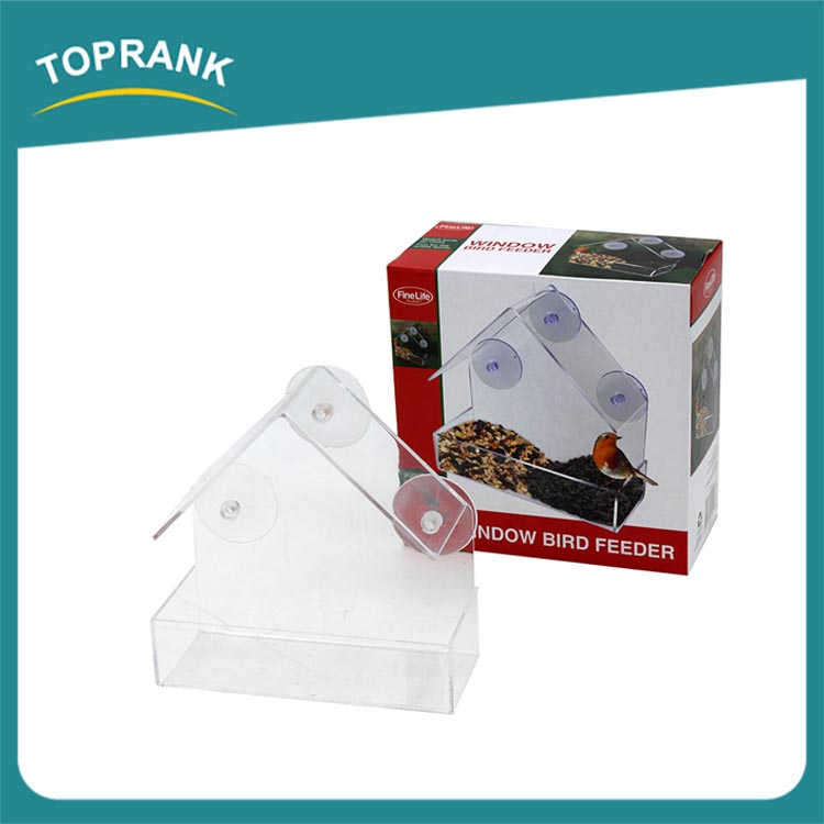 Over 12 Years Experience With Suction Up Clear Plastic Window Bird Feeder