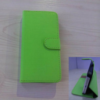 New leather mobile phone wallet card holder case for iPhone 5/5s 2014