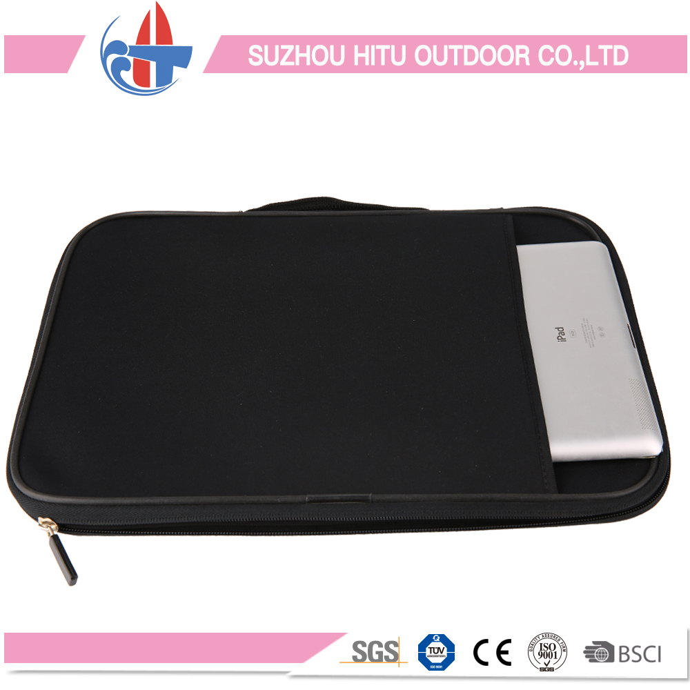Neoprene Laptop bag PC cases,Carrying Handle Sleeve Case Bag Briefcase with Mouse Pad