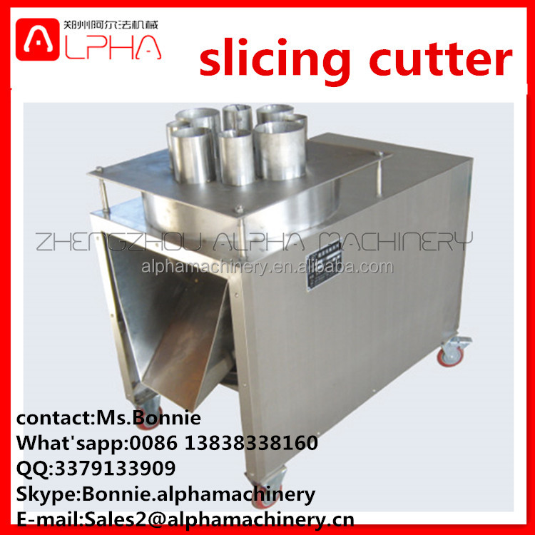 profesional Stainless steel banana cutter/ pinapple slicing machine/ Fruit&vegetable cutter slicing machine