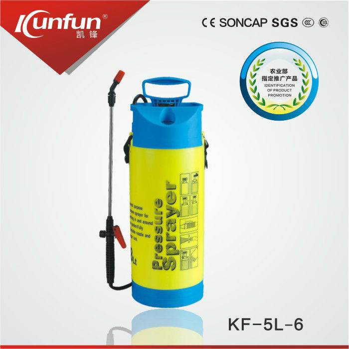 8L high pressure pump lawn and garden sprayer