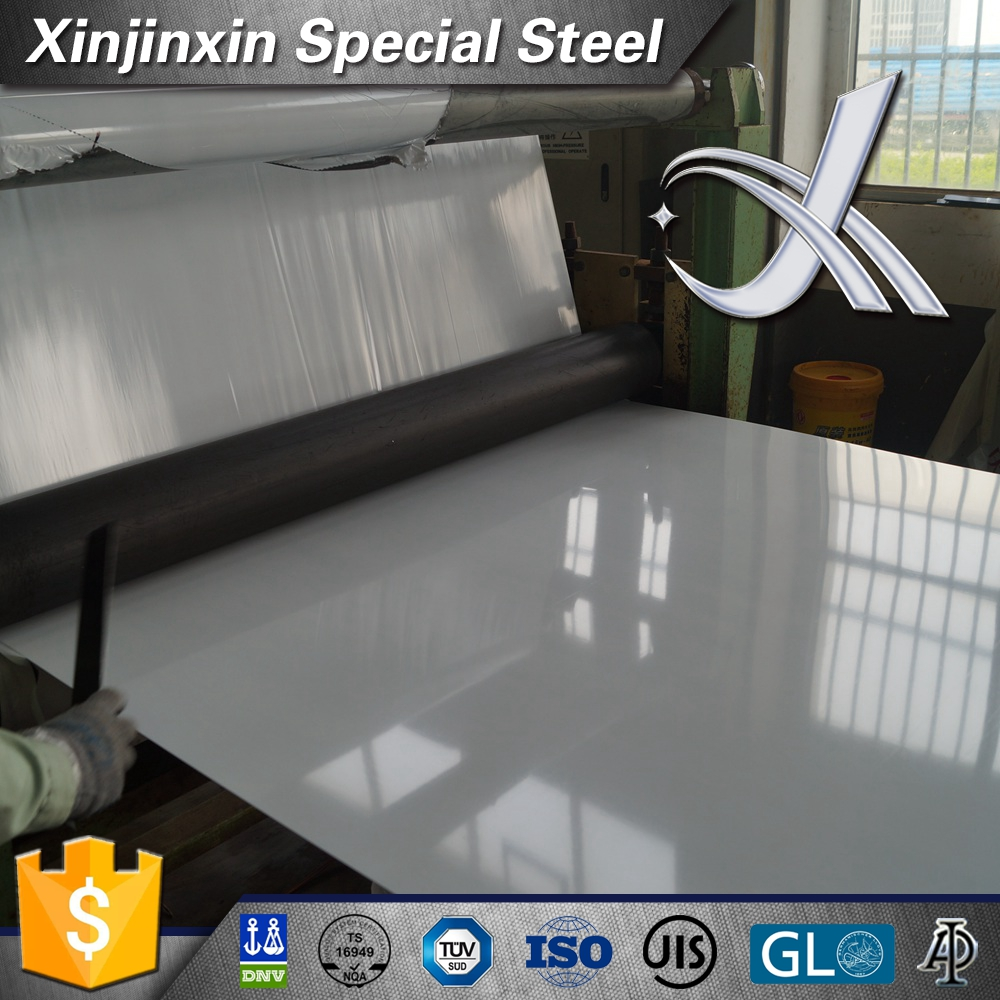 304L 3mm thickness PVC film stainless steel sheet