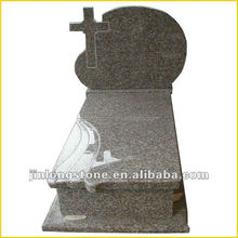Professional chinese granite G654 tombstone factory