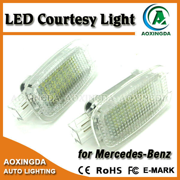 LED Courtesy Lamp Door Lights for Mercedes Benz W204 W216 W217 W212 W221,W245 5D,Smart Fortwo 2D,C197 2D,X164 5D