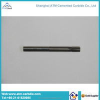 High precision solid tungsten carbide end mill