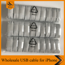 USB Charger Cable for iPhone 6 7 plus Data Sync Charging Cable iOS10, 144 Metal Braided Light ning Cable