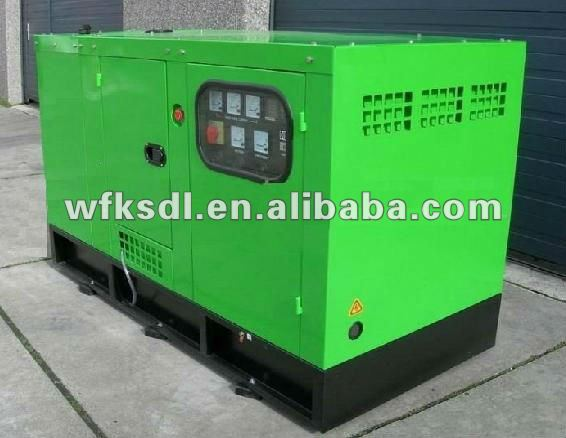 water cooled silent type diesel generator efficiency