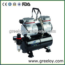 Mini Air Brush Compressor with Tank model GW206