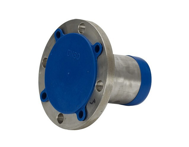 Stud hole pipe flange covers bolt quick fit