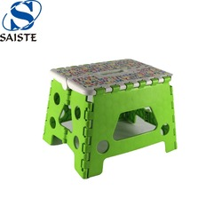 Professional household shoes changing child plastic folding stool