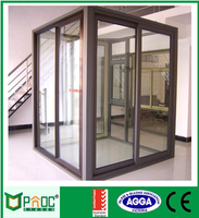 cheap price of canada standard aluminum sliding door with quality control