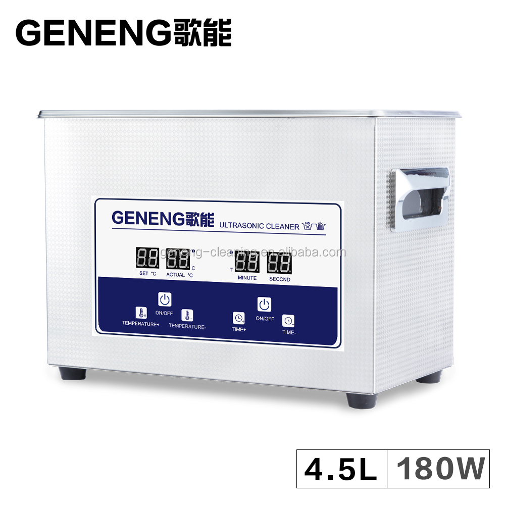 Digital Ultrasonic Cleaner Bath 4.5L Vegetable PCB Board <strong>Watch</strong> Teeth Jewelry Car Parts Oil Rust Degrease Ultrasound Bath