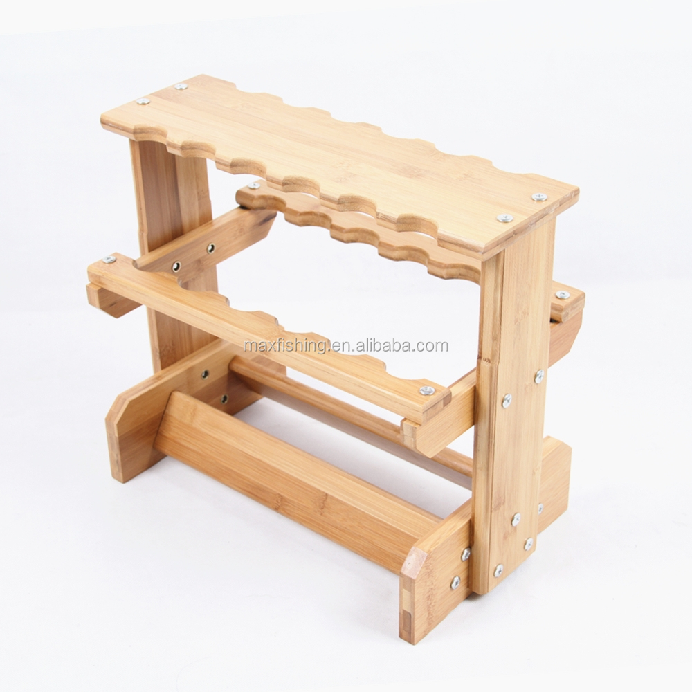 Fishing rod display rack Fishing Rod Holder