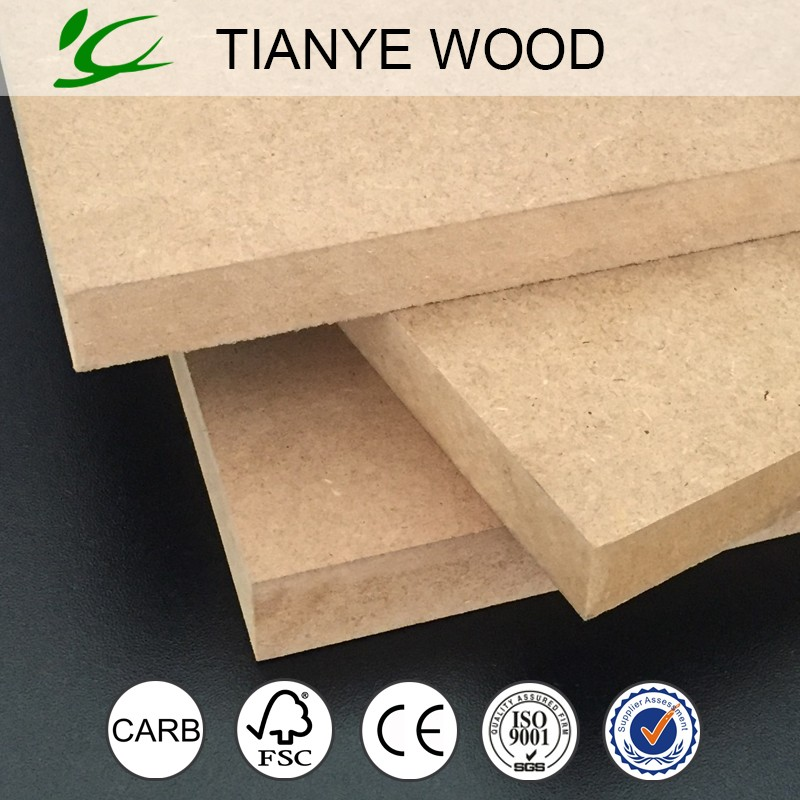 Best price hdf high density fiberboard for kitchen cabinet use provided by the hdf manufacturer