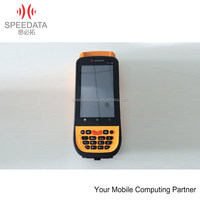 China 6 years factory of RFID reader 134.2khz -- handheld RFID reader android pda barcode laser scanner