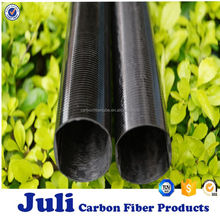 Hot sale Drum shape carbon fiber tube, UD surface, unidirectional surface carbon fiber tube