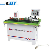 OBT-517 Small portable manual woodworking glue edge bander machine with CE for sale