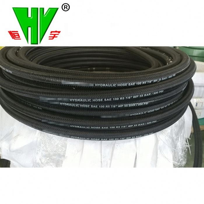 CE Certified Hydraulic Rubber <strong>Hose</strong> Hydraulic <strong>Hose</strong> <strong>sae</strong> 100 r5