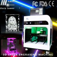 best gift for engineers new model for 3d laser engraved crystal cube machine machine
