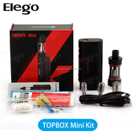 Kanger Topbox Mini Platinum kit with Kbox mini 75w Mod TC Top Filling Topbox Mini Tank Wholesale