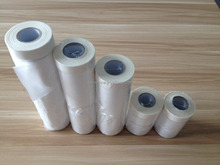 pretaped masking film HDPE pre taped car paint masking film